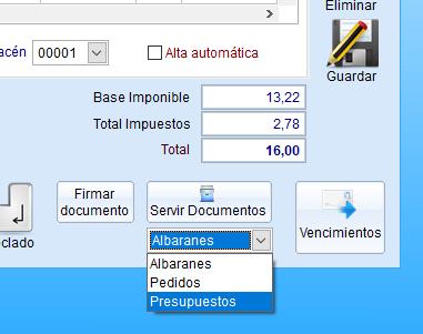 Servir Documentos