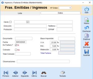 Ingresos/Ventas